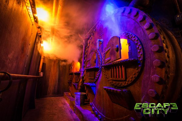 Over the Falls Escape Room